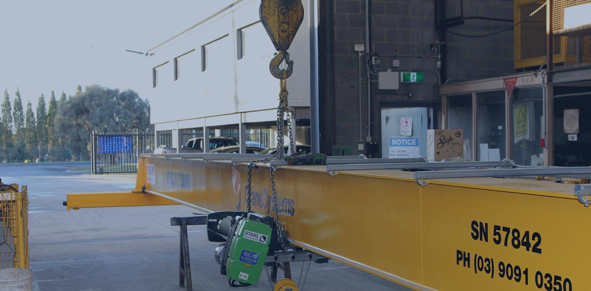 Specialised in STAHL Wire Rope Hoists