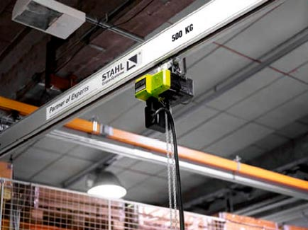 Stahl Light Crane System